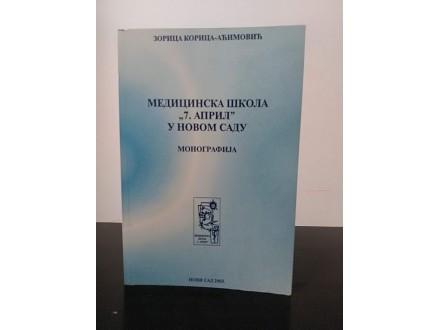 MEDICINSKA ŠKOLA 7 APRIL U NOVOM SADU monografija