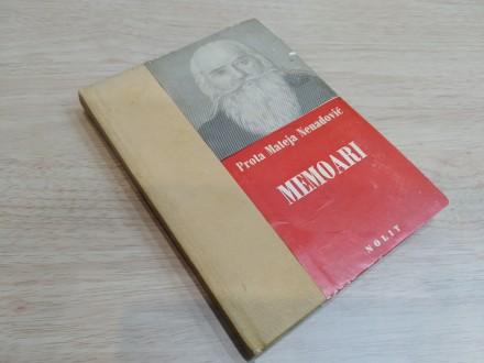 MEMOARI - Prota Mateja Nenadović