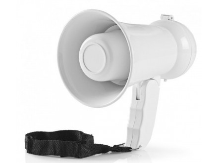 MEPH2020WT Megafon 15W, 100dB, Domet 100m