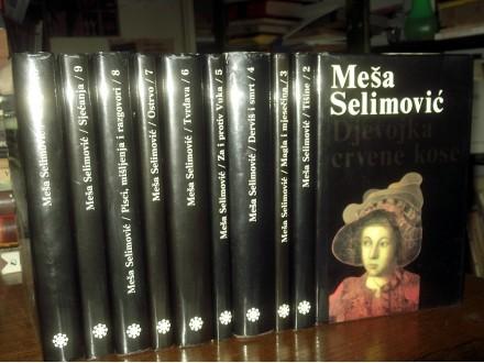 MEŠA SELIMOVIĆ - Sabr. dela u 10 knj. (ilus. M. Berber)