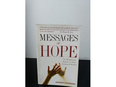 MESSAGES OF HOPE, Suzanne Giesmann NOVO