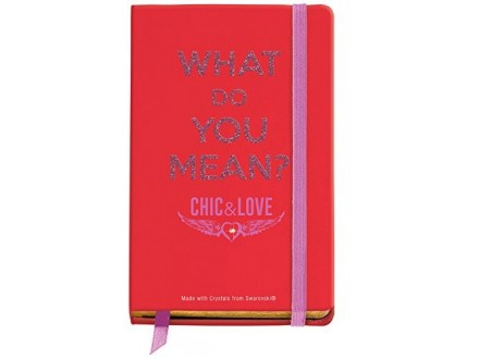 MIQUEL RIUS Chic and Love Notebook Logbook 10000