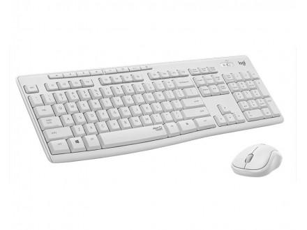 MK295 Silent Wireless Combo US tastatura + miš bela