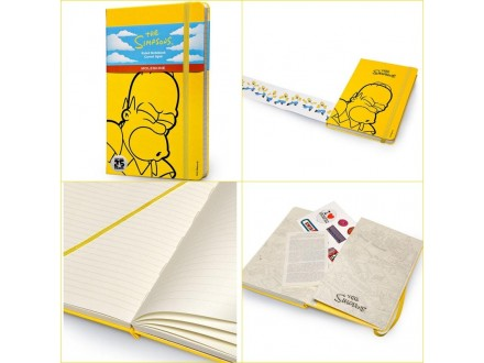 MOLESKINE Notebook 13x21 LE 32428 The Simpsons