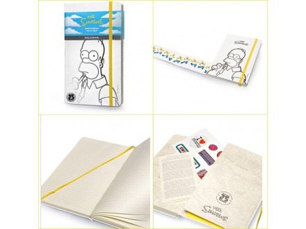MOLESKINE Notebook 13x21 LE 32430 The Simpsons