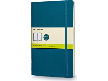 MOLESKINE Notebook 13x21 SC 32371 Underwater Blue