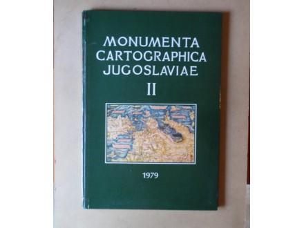 MONUMENTA CARTOGRAPHICA JUGOSLAVIAE II