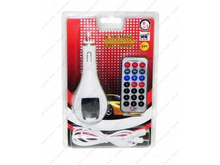 MP3 FM transmiter + punjac 5 + BESPL DOST. ZA 3 ART.