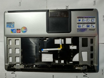 MSI cx500 Palmrest i touchpad