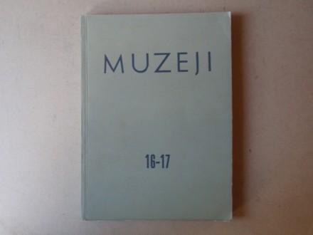 MUZEJI broj 16-17  Časopis za muzeološka pitanja