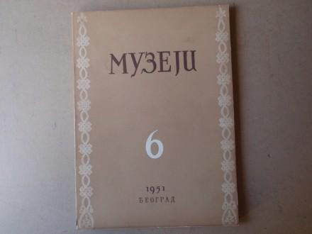 MUZEJI broj 6 - Organ Srpskog muzejskog društva