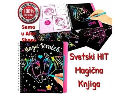 Magična knjiga-bojanka! Bez bojica, samo grebanjem!