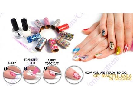 Magicne nalepnice za nokte + BESPL DOST. ZA 3 ART.