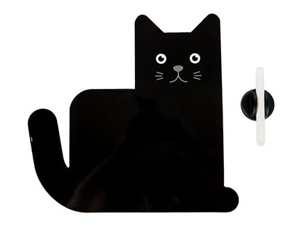 Magnetna tabla sa markerom - Meow, Black - Oscar Torrent