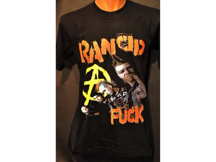 Majica Rancid punk rock band majica M ili S vel. crna