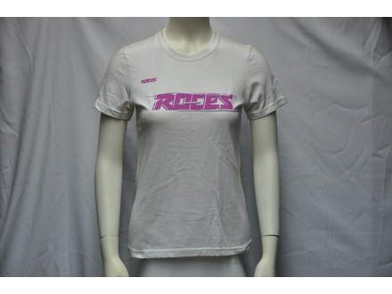 Majica Roces bela sa ljubicastom aplikacijom novo S