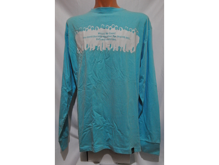 Majica dugih rukava CUBE original svetlo plava  XL