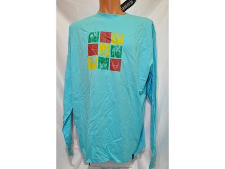 Majica dugih rukava CUBE original svetlo plava  XXL