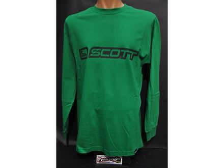 Majica dugih rukava Scott Banner  u zelenoj boji S i L.