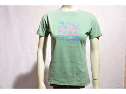 Majica zenska Cube Crooked Cube Inc zelena Vel. S novo