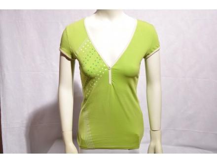 Majica zenska Scott Sports Deep-V zelena nova Vel. S