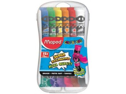 Maped tempere Color Peps 12ml 1/12PVC