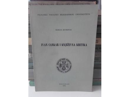 Marija Mitrović - Ivan Cankar i književna kritika
