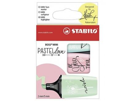 Markeri Stabilo - Boss Mini Pastel 1/3