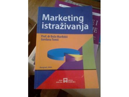 Marketing istraživanja - Marđokić, Tomić