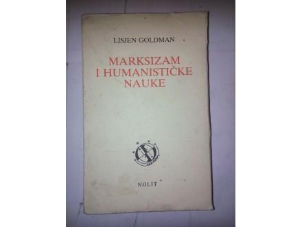 Marksizam i humanističke nauke - Lisjen Goldman