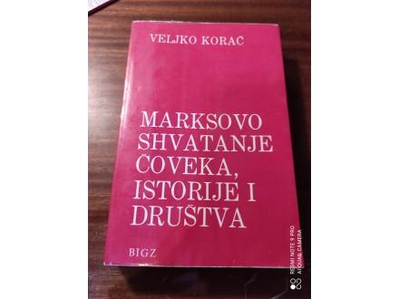 Marksovo shvatanje čoveka  istorije i društva