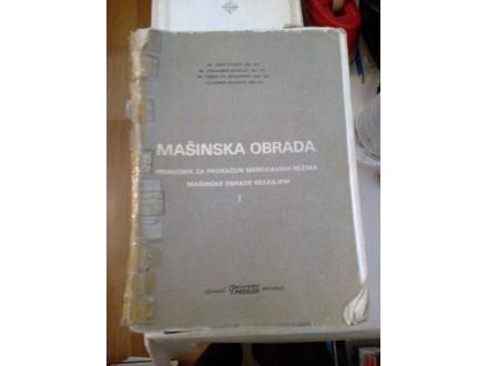 Mašinska obrada priručnik za proračun merodavnih režima
