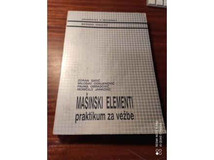 Mašinski elementi praktikum Savić Ognjanović