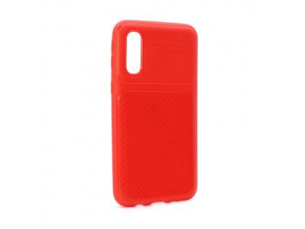 Maskica Elegant Carbon za Samsung A260F Galaxy A2 Core crvena