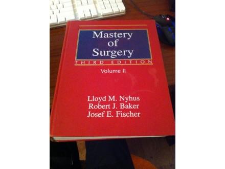 Mastery of surgery nyhus baker II