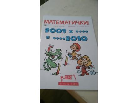 Matematički list broj 3. 2009/10. za osnovnu školu