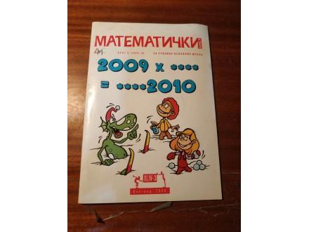 Matematički list broj 3 2009/2010