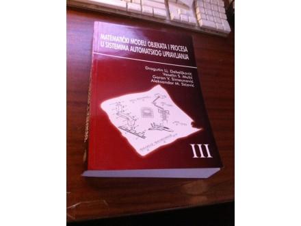 Matematički modeli objekata i procesa u sistemima