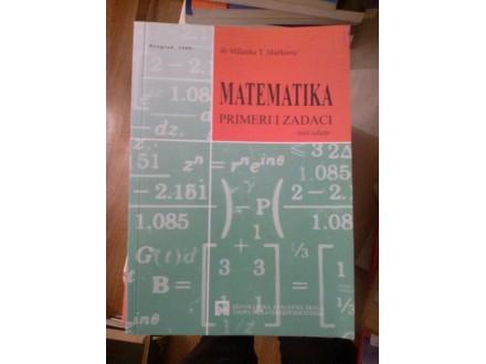 Matematika primeri i zadaci - Milanka T. Marković