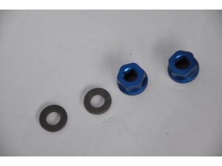 Matice Dartmoor za osovine tocka tamnije plave 10mm kra