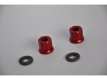 Matice za osovinu tocka Dartmoor crvene 10mm dugacke