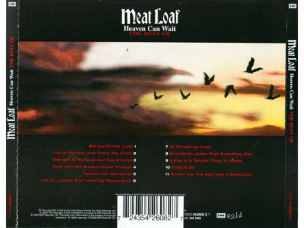 Meat Loaf – Heaven Can Wait - The Best Of