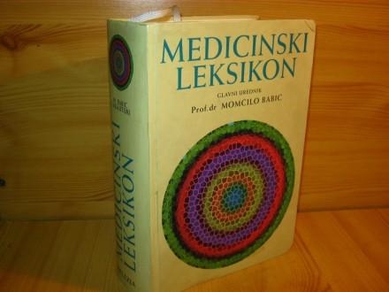 Medicinski leksikon - prof.dr Momcilo Babic