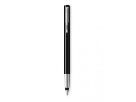 Medium Vector Chrome Trim Nib Fountain Pen - Parker
