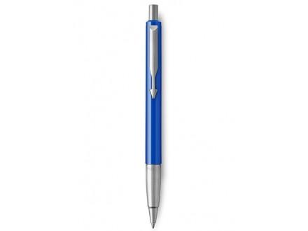 Medium Vector Chrome Trim Point Ballpoint Pen - Parker