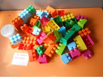 Mega Bloks LEGO Duplo  60.ELEMENATA