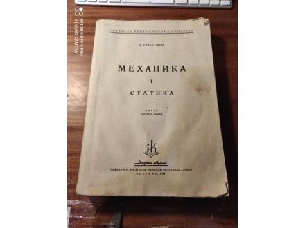 Mehanika i statika Rašković