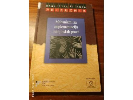 Mehanizmi za implementaciju manjinskih prava