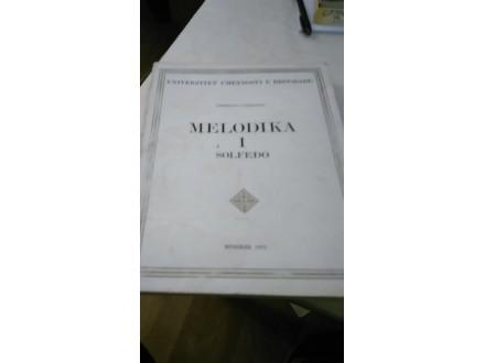Melodika 1  solfeđo - Zorislava Vasiljević