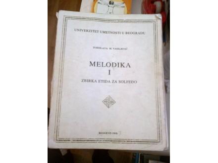 Melodika i zbirka etida za solfeđo - Vasiljević